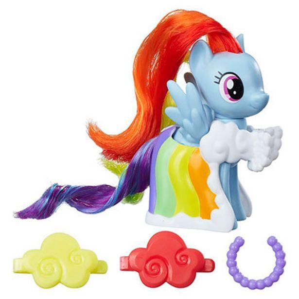Oferta de Juguete Hasbro My Little Pony B8810/B9622 Rainbow Dash por $1519