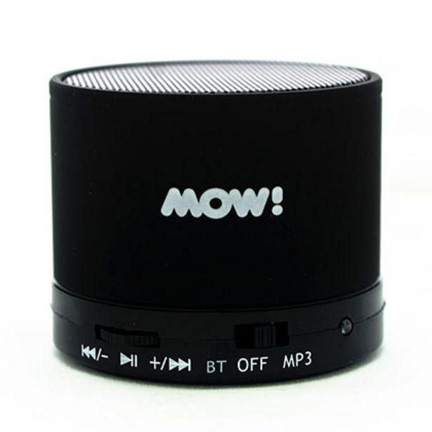 Oferta de Parlante Portatil MOW MW-S10 Bluetooh Negro por $855