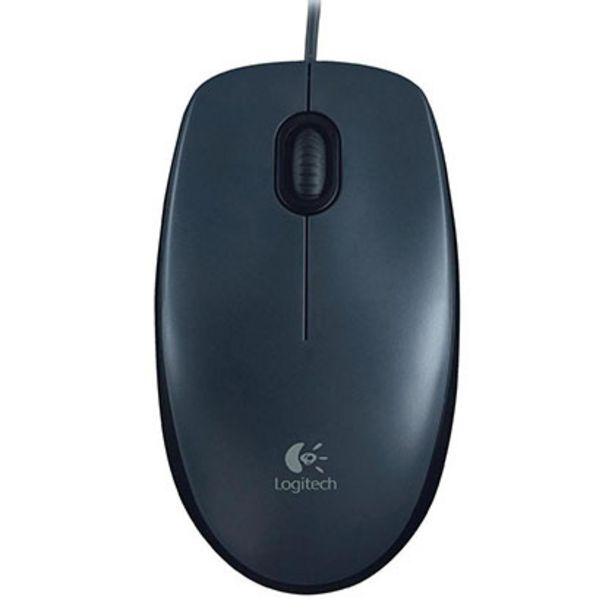 Oferta de Mouse Logitech M90 Negro por $950
