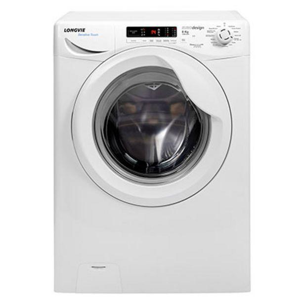 Oferta de Lavasecarropas A++ Sensitive Touch 8/5 Kg 1200 Rpm Longvie LS18012 Blanco por $73699