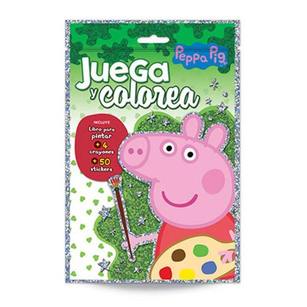 Oferta de JUEGOS DE CREATIVIDAD PEPPA PIG 3853 MINI COLOREA N°1 por $299