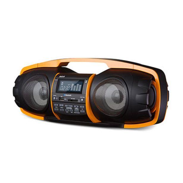 Oferta de Parlante De Audio Portátil Bluetooth Boombox Rca Rsnuke por $9599