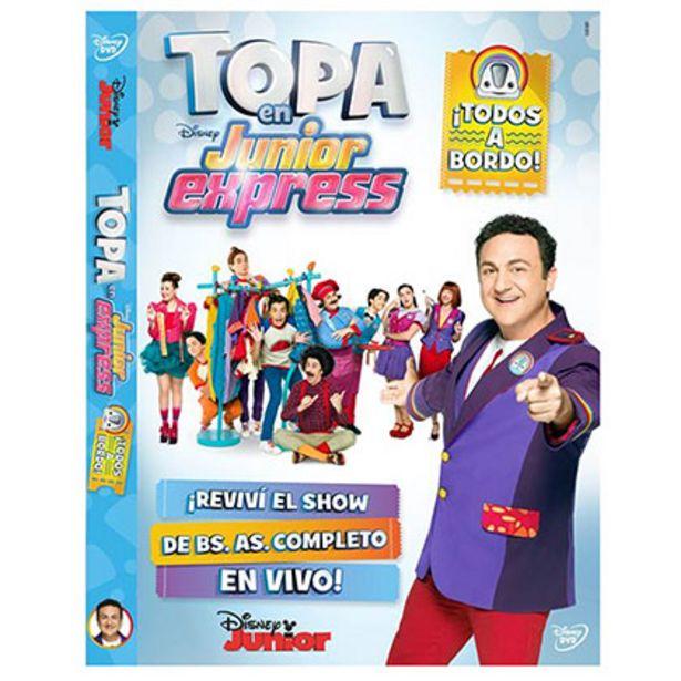 Oferta de Dvd Topa en Junior Express Todos a Bordo por $79