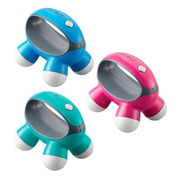 Oferta de Masajeador Manual Por Vibración Quad Mini Massage Novelty Homedics NOV-30-9CTM por $999