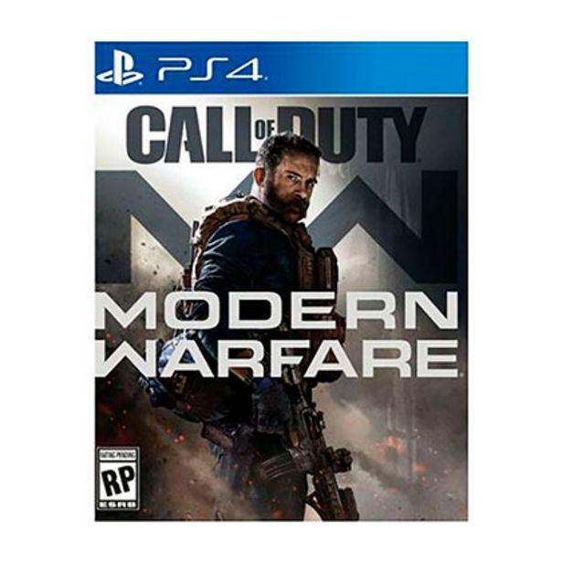 Oferta de CALL OF DUTY MODERN WARFARE - LATAM PS4 por $7509