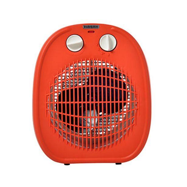 Oferta de Caloventor 1800W Indeplas IC-01 Naranja Con Blanco por $2899