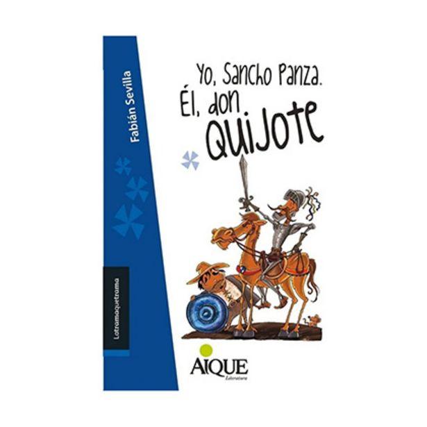 Oferta de Libro Yo Sancho Panza Él Don Quijote por $120