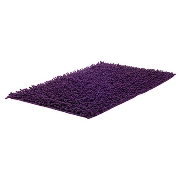 Oferta de Alfombra Shaggy Violeta 40x60 Cm por $304