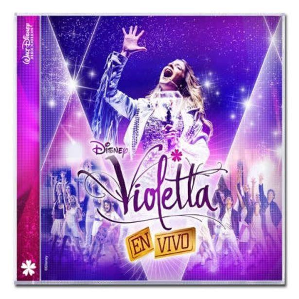 Oferta de Disney Violetta en Vivo por $32