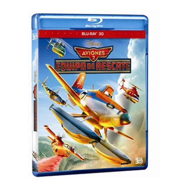 Oferta de Bluray Disney Aviones 2 3d por $80