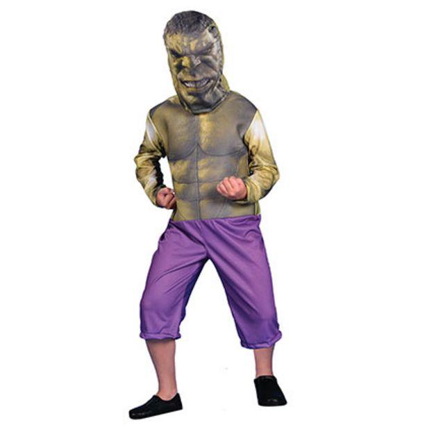 Oferta de Disfraz Hulk Con Luz Talle 2 Disney CAD213110 por $1299