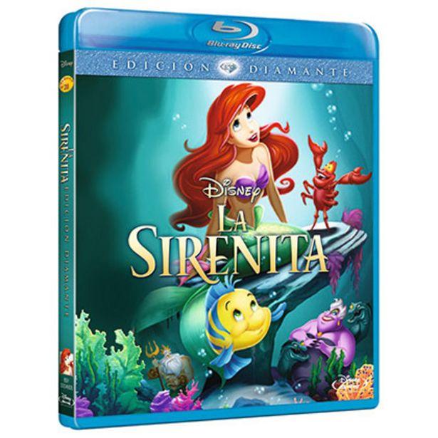 Oferta de Bluray Disney La Sirenita por $60