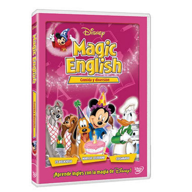 Oferta de Magic English: Comida y Diversion por $32