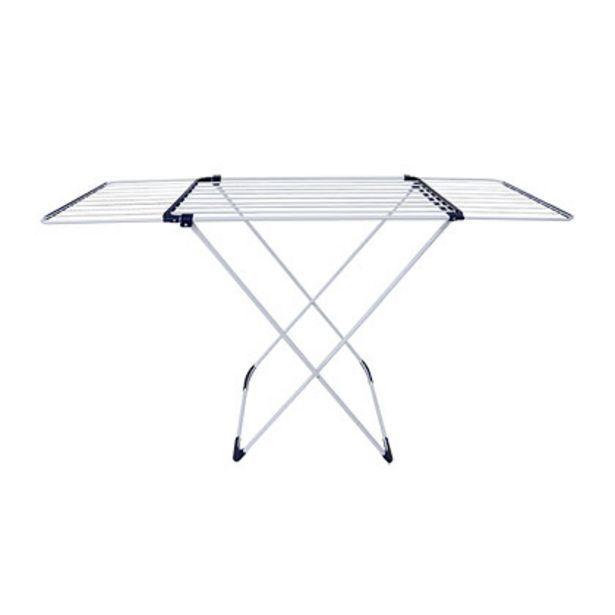 Oferta de Tender De Ropa De Pie Extensible Plegable Acero Inox One Box OB-TE1 por $6499