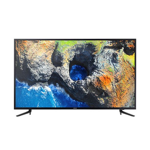 "Oferta de Tv Smart Led 58"" Ultra Hd 4K Bluetooth Samsung UN58RU7100GCZB por $74999"