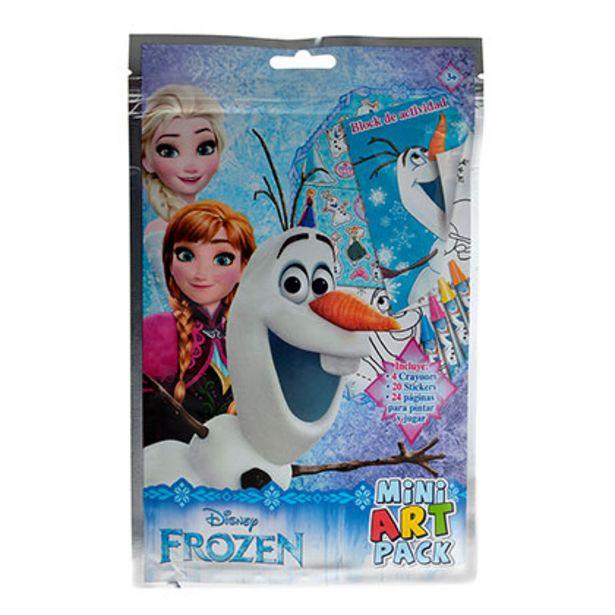 Oferta de Mini Flow Pack Juegos Frozen Block de Actividades por $299