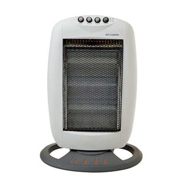 Oferta de Calefactor Halogena Kendal KE-HH1201B Blanco por $2469