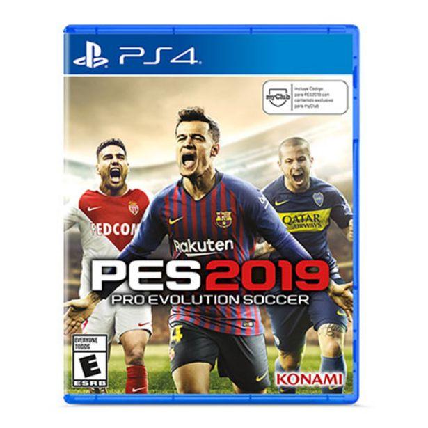 Oferta de Juego para Playstation 4 Ps4 Pes2019 Pre Evoution Soccer 2019 por $2189