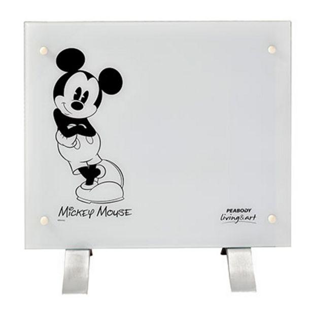 Oferta de Vitroconvector Disney PE-VC10D4 Mickey Canchero Blanco con Negro por $4999