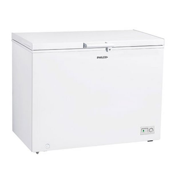 Oferta de Freezer De Pozo Horizontal 410 Lts Philco PHCH410BM Blanco por $62999