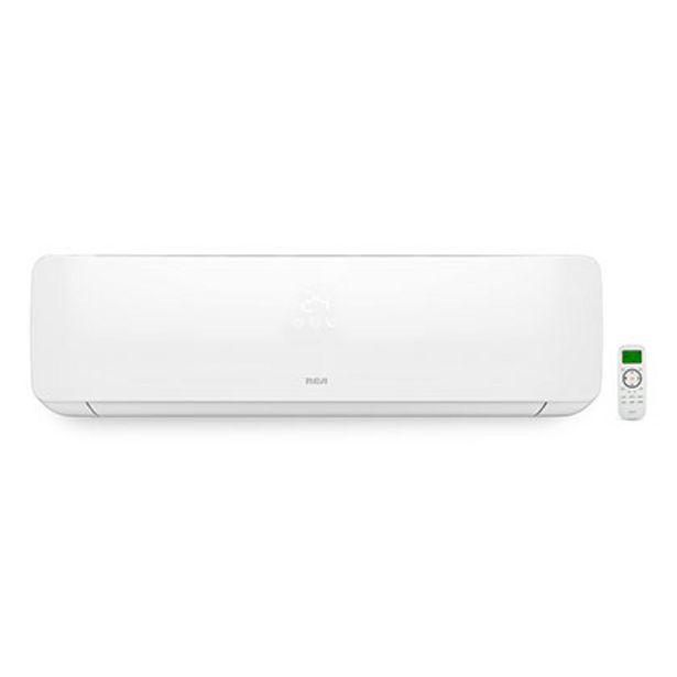 Oferta de Aire Acondicionado Split Frío Calor 4386 F 5100 W Rca RHS5100FC Blanco por $67999