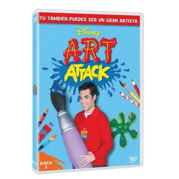 Oferta de DVD Art Attack Vol 3 Disney por $24