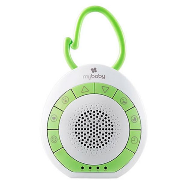 Oferta de Spa Musical Portable 4 Sonidos Homedics My Baby Sound por $1799