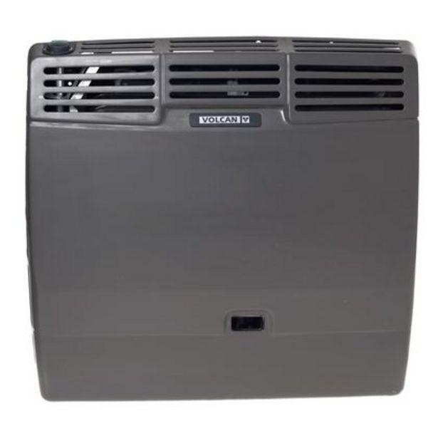 Oferta de Calefactor Tiro Balanceado Salida Posterior Gas Natural Volcan 46312V Gris por $14059