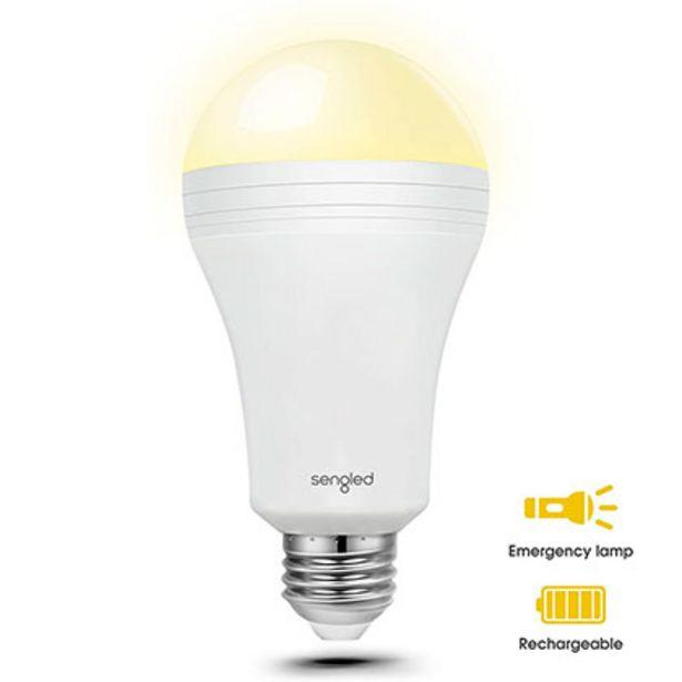 Oferta de Lámpara Led Iluminación Luz De Emergencia Integrada Sengled EverbrightArt. 1102160028 por $999