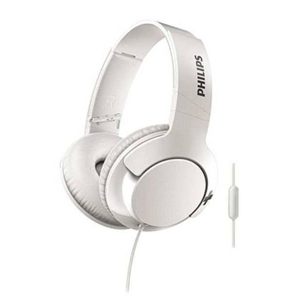 Oferta de Auriculares Philips Over Ear SHL3175WT/00 por $3399