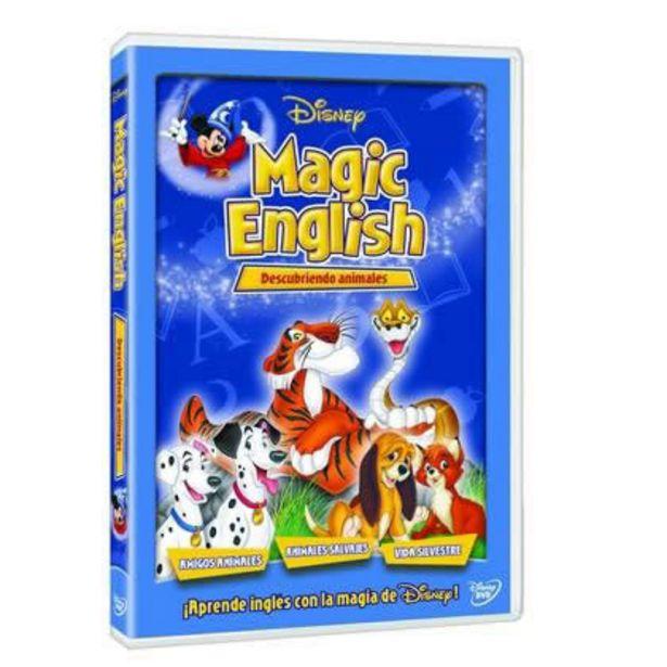 Oferta de Disney Magic English Descubriendo Animales por $39
