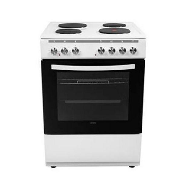 Oferta de Cocina Eléctrica 60Cm Atma CCH062B Blanca por $47199