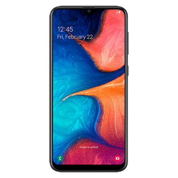 Oferta de Celular Libre Samsung A20 Negro 32 Gb por $22999