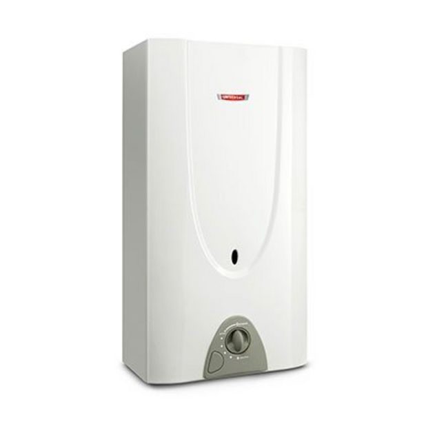 Oferta de Calefón Gas Natural 14 Lts. Universal CU146 Blanco por $25649
