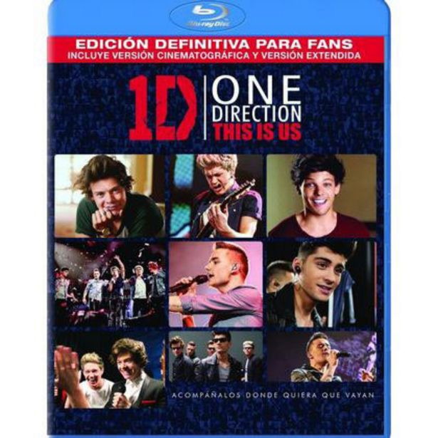 Oferta de Blu-Ray Sony Asi Somos One Direction por $99