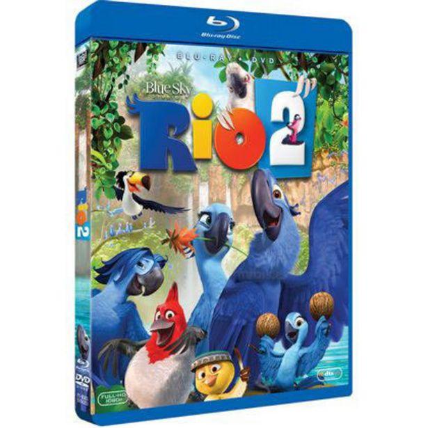 Oferta de Pelicula Blu Ray Rio 2 por $80
