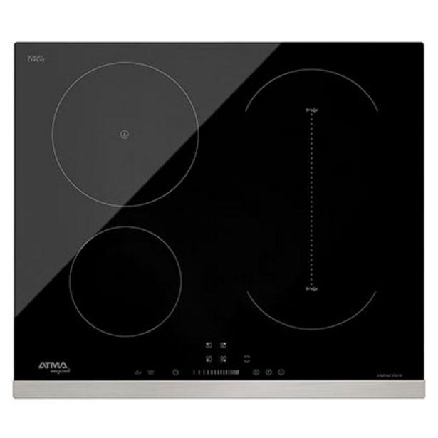 Oferta de Anafe Eléctrico De Inducción Control Touch Hornalla Expansible 59 Cm Atma CAE3041I por $56599