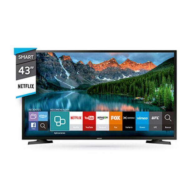 """Oferta de Tv Smart Led 43"""" Full Hd Samsung UN43J5290 por $41999"""