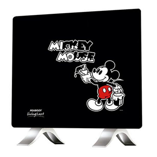 Oferta de Vitroconvector Disney PE-VC10D2 Mickey Pintor Negro por $4999
