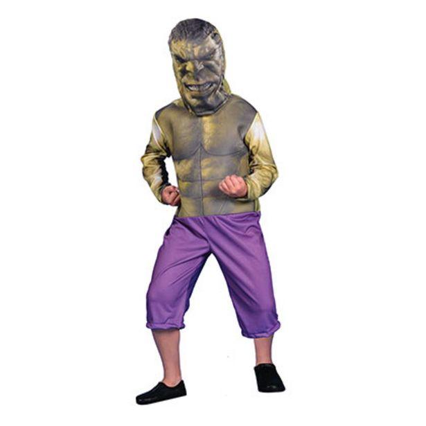 Oferta de Disfraz Hulk Con Luz Talle 0 Disney CAD212910 por $1299