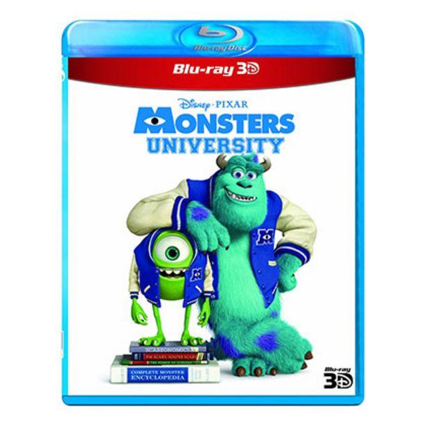 Oferta de Bluray Disney Monsters University 3d por $72