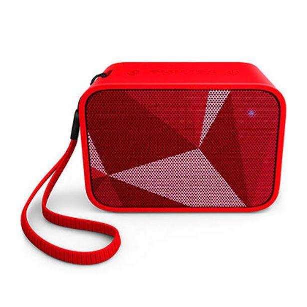 Oferta de Parlante Portátil Inalámbrico Bluetooth Philips BT110R/00 Rojo por $2999