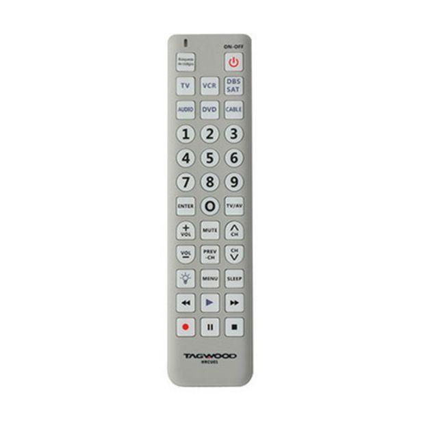 Oferta de Control Remoto Universal Tagwood HRCU01 por $950