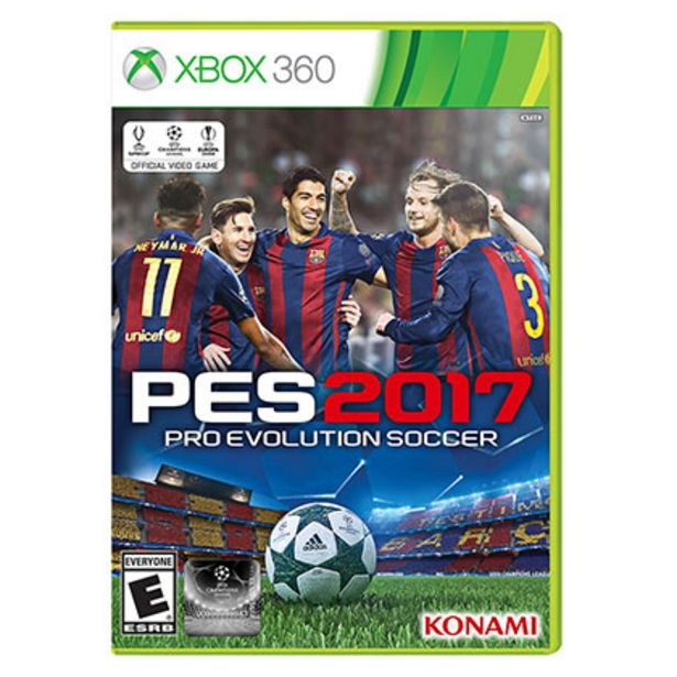 Oferta de Juego para Xbox 360 PES 2017 por $950