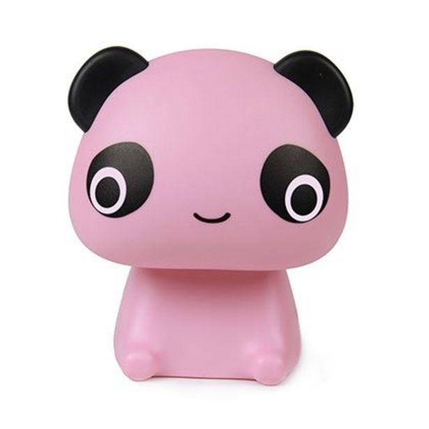 Oferta de Lampara Led de Mesa Panda Rosa por $760