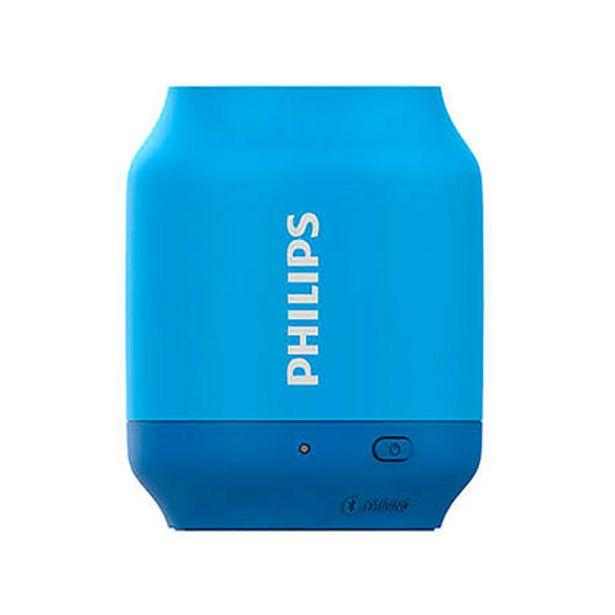 Oferta de Parlante Portátil Bluetooth Philips BT51A/00 Azul por $1899