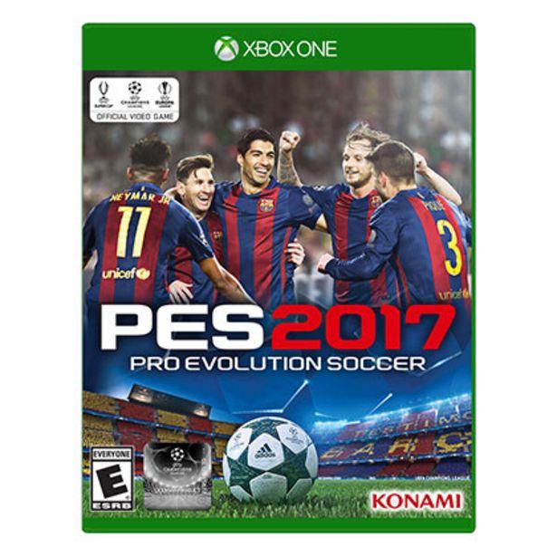 Oferta de Juego de Xbox One Konami PES 2017 por $900