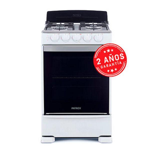 Oferta de Cocina Multigas 55Cm Patrick CP6855B Blanca por $35999