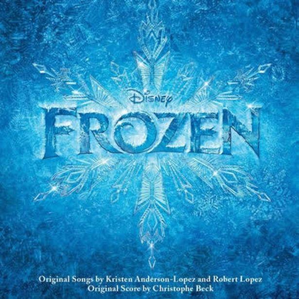 Oferta de Musica Original en Cd Frozen Disney por $39