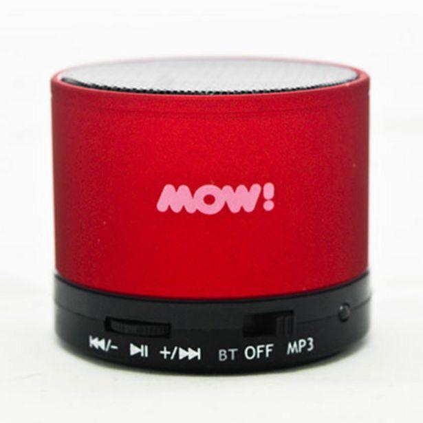 Oferta de Parlante Portatil MOW MW-S10 Bluetooh Rojo por $799